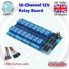 16 Channel 12V Relay Module Board Low Level Trigger - Arduino Raspberry Pi PIC