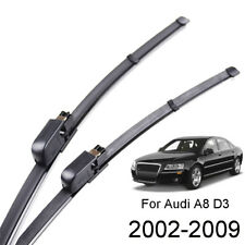 Xukey Front Windshield Wiper Blades Set For Audi A8 S8 D3 Sedan 2005-2009 2008