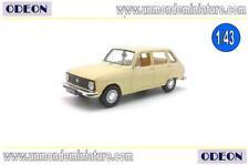 Renault 6 1980 Beige ODEON - OD 012 - Echelle 1/43 NEWS MARS 2018