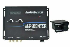 AUDIO CONTROL EPICENTER DIGITAL BASS CAR AUDIO EQUALIZER BLACK NEW
