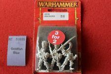 Games Workshop Warhammer Empire Greatswords Greatsword Metal x3 BNIB Blister OOP