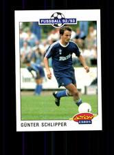 Günter Schlipper FC Schalke 04  Panini Action Card 1992-93 + A 183110