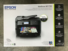 New ListingEpson WorkForce Wf-7720 Wireless All-In-One Inkjet Printer