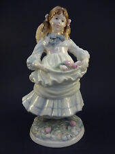 Coalport Figurine: Childhood Joys: Anniversary of NCH: Limited, Issued 1989