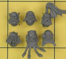 Warhammer 40K Marines Espaciales Lobos Wolf Pack cabezas de espacio (C)