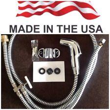 Chrome Toilet Bidet Shattaf Muslim Shower. MADE IN USA. FREE FAST SHIPPING !