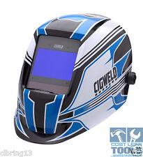 CigWeld ProPlus Digital Auto Darkening Welding Helmet - Pro Racer - 454353