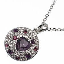 9.88ct Corte Corazón Estilo forma Amatista violeta Circonita Cúbica 18ct
