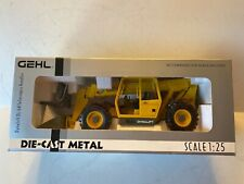 DCP GEHL DYNALIFT TOY DIE-CAST METAL Limited Silver EDITION