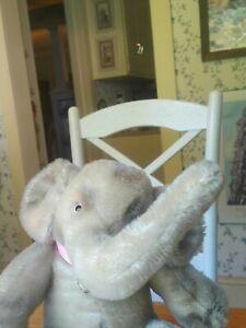 Antique Vintage 1950s/1960s Steiff Jumbo Elephant Teddy Bear Friend 9in VGC