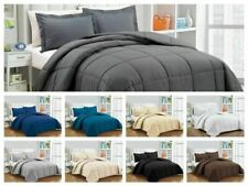 5 PC(Comforter+Pillow Case)200 GSM 1000 TC Egyptian Cotton US Sizes & Colors