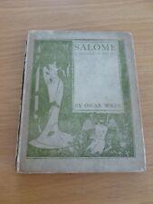 OSCAR WILDE - SALOME - 1908 - ENGLISH EDITION