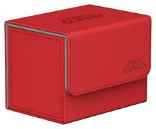 More details for ultimate guard sidewinder 80+ xenoskin deck box - various colours