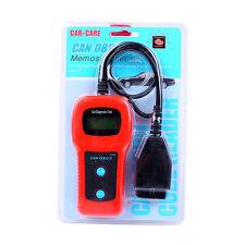 U480 CAN OBDII OBD2 Car Diagnostic Scanner Tool Memo Engine Fault Code Reader