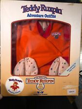 1985 Teddy Ruxpin Teddy Bear Adventure Sleeping Outfit Worlds of Wonder