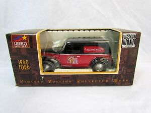 Liberty Classics DieCast 1940 Ford Delivery Van Limited Ed. Collector Coin Bank