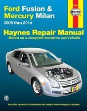 Repair Manual for Ford Fusion 2006 -14 & Mercury Milan 2006 - 11  Haynes 36045