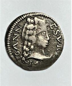 Portuguese India/ Tanga-60 Reis - John V 1748-9/ KM.119/ RARE SILVER COIN