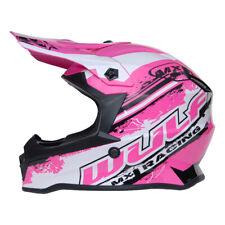 Kinder Cross Helm Off Road Pro XL 53-54cm Pink Motorrad Quad Bike Enduro MX BMX