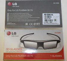 2 x LG AG-S360... Active 3D glasses LG Plasma TV 2012/2013 PM PH series...