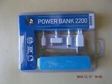LASER-POWER BANK 2200mah/ blue