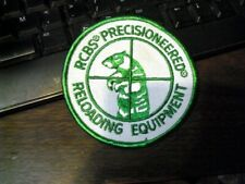 Rcbs Precisioneered Reloading Equipment Patch hunting iron on patch New