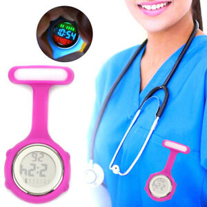 Pin On Multi-Function Digital Silicone Fob Night Lights Stopwatch Nurse Watch