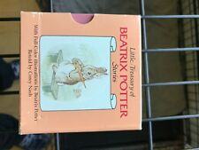 Vintage Little Treasury of Beatrix Potter 1985 Mini Books Peter Rabbit
