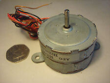 AEG 7.5 deg. 12V Stepper Motor - Single shaft