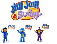 FIGURAS PVC  JIM JAM Y SUNNY - COMANSI