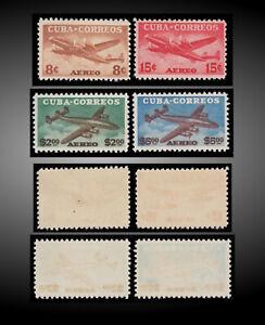 1953 SPANISH ULTRAMAR LOKHEED CONSTELLATION AIRLINES SCT.C75--C78 MI.391-394