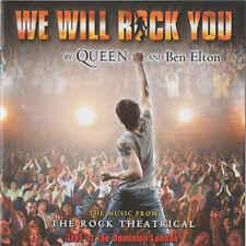 Queen- We Will Rock You - Original London Cast Recording (Box C120)