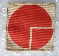 Patch- VINTAGE 4th Infantry Division Formation Sign Patch / Cloth Badge (Used)