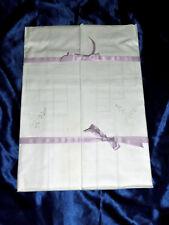 2 neue Kissenbezüge, Glanz-Stickerei Lochstickerei, wunderschöne Weisswäsche