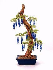 10Pcs/Bag Bonsai Blue Wisteria Tree Seeds, Rare Flower Seeds Perennial Plants