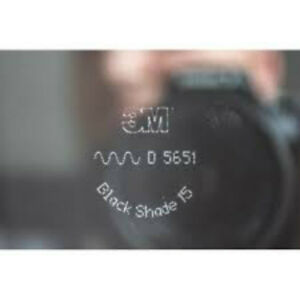 1M Pellicola omologata ABG oscuramento Vetri Auto serie Black Shade 3M™ BS 15%