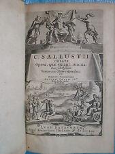 THYS : C. SALLUSTI CRISPI OPERA. Leyde, 1654 (collection des Variorum).