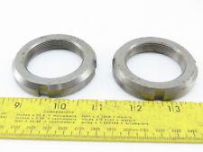 """Smalley 03-0207 Ksr-H67F 1-3/4""""-18 Shaft Ring Lock Nut Lot Of 2"""