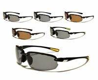 New X Loop POLARIZED Sport Half Frame Fashion Sunglasses For Men & Women.