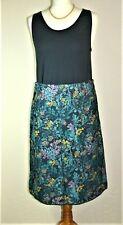 MISTRAL - BNWT - Lovely Corduroy Skirt - Teal/Multi - 12UK - Thames Hospice