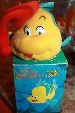 VtG NEW 1989 The Little Mermaid Disney Flounder Stuffed Plush Christmas Ornament