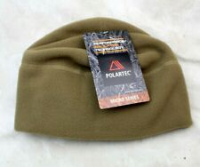 NEW GENUINE USMC COYOTE BROWN MICRO FLEECE CAP HAT - USA MADE