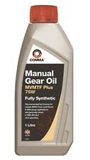 FULLY SYNTHETIC SAE 75W GEAR OIL TRANSMISSION OIL TOP QUALITY 1L