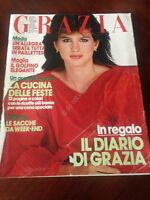 GRAZIA 19 Dicembre 1982 n.2182  Rivista Magazine Adriana Asti