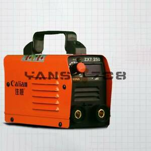 ZX7 250 250A DC Portable MMA ARC Welder Mini Inverter Electric Welding Kit