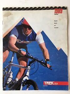 Vintage Original TREK Bicycle Catalog 1989
