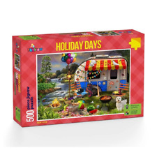 Funbox 5006 Holiday Days - Caravaning Jigsaw Puzzle 500pc Brand New