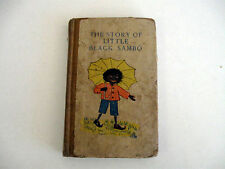 The Story of Little Black Sambo  HELEN BANNERMAN  First Edition 1st State 1900