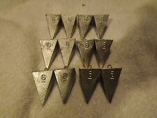 12-6oz Pyramid Sinkers   FREE SHIPPING