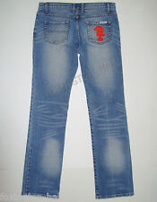 "BEAUTIFUL SASS&BIDE VINTAGE BLUE STRAIGHT LEG DENIM JEANS 30 ""ETHEREAL LOVE"""
